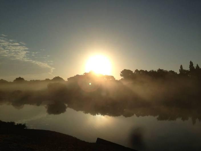 sunrise at Setley