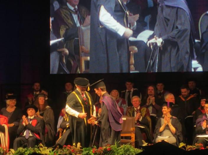 Sam's graduation 1