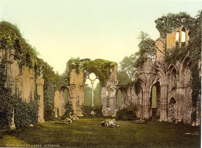 Hampshire, Netley Abbey, Interior